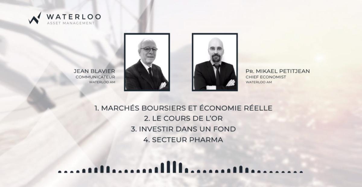 <b>Les grands thèmes boursiers de la rentrée</b> - Podcast avec J. Blavier et M. Petitjean
